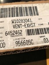 New listing New! W10283041 Whirlpool Wall vent-exhst , Oem