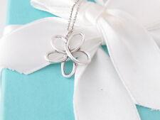 TIFFANY & CO SILVER PICASSO VILLA PALOMA FLOWER NECKLACE BOX INCLUDED