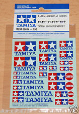 Tamiya 66614 Tamiya Logo Sticker Set, (Decals/Stickers), NIP