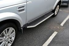 To Fit 05+ Land Rover Discovery 3/4 Running Boards Side Steps Bars Skirts