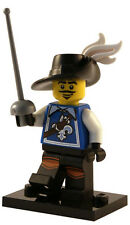 NEW SEALED LEGO SERIES 4 MUSKETEER MINIFIG 8804 figure minifigure #3 fencing man