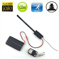 1080P Spy Hidden Camera Camcorder Mini DV DVR DIY Module Remote Control Welcome
