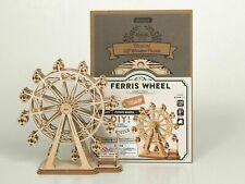 Robotime 3D Laser-Cut  Wooden Puzzle Ferris Wheel Model Kit. Educational & Fun!