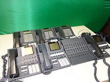 LOT OF 7x * INTER-TEL AXXESS Phones w/ DDS Console - 550.4200 4400 4500