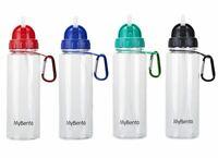 Summit MyBento 700Ml Bottle With Flip Straw – 1 Unit Blue Bottle