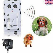 Humanely Ultrasonic Anti Bark Device Stop Control Barking Dog Silencer Hanger UK
