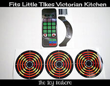 New Replacement Decals Stickers fits Little Tikes Victorian Kitchen Stainless St