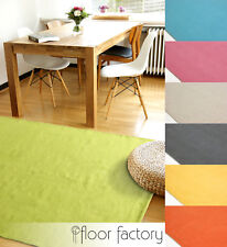 Moderner Baumwoll Teppich Living - waschbarer Webteppich aus 100% Baumwolle