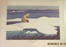 King of the North Remington Arms open edition 12 1/4 x 16 1/2 lithograph.print