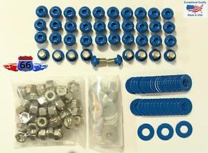 Powder Coated Screw Kit for Pocket/Rivet Style Fender Flares Hardware 5/16-3/8