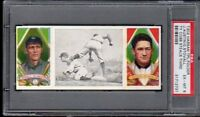 1912 T202 Hassan  Ty Cobb Steals Third - Austin & Stovall PSA 6 31712731