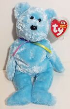 """TY Beanie Babies """"SHERBET"""" Soft Blue Teddy Bear - MWMTs! GREAT GIFT! A MUST HAVE"""