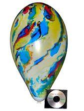 "50 x Multicolor/Marble Riesen Luftballons 15""/38 cm Ø Big Balloons looner"