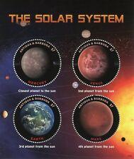 Antigua & Barbuda 2018 MNH Solar System Venus Mars 4v M/S Planets Space Stamps