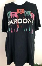 Maroon 5 Concert Tee Shirt Black Size Xl Womens Adam Levine 2013 Tour