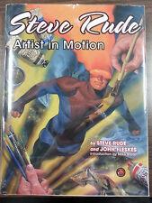 Steve Rude Artist In Motion by Steve Rude & John Fleskes SIGNED Limited Ed HCwDJ