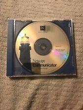 Netscape Communicator Original install CD 4.7 For Windows 3.1, 95 & 98