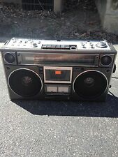 RARE SANYO M9994 Boombox, Cassette Player/Recorder, AM/FM, 100% Working/Restored