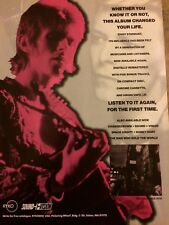 David Bowie, Ziggy Stardust Ryko, Full Page Vintage Promotional Ad