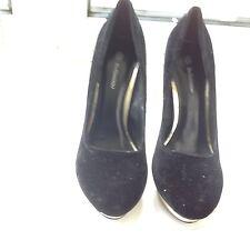 Bellissimo Para Mujer Zapatos De Gamuza. tamaño 6UK