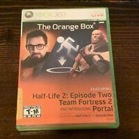 The Orange Box (Xbox 360) Team Fortress, Half Life 2, Portal Completen w/ Manual