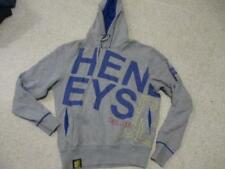 Henleys Project Deluxe grey hoodie top adult size