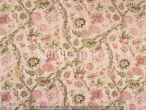 Indisch Handmade Kantha Decke Überwurf Wende Tagesdecke Vintage Baumwolle Gudri