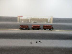 Fleischmann H0 5834-92 K Güterwagen-Set 3-teilig der DB in OVP