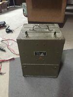 Signal Corps U.S ARMY Frequency Meter BC-221-AE Philco USA  Mfp Ham Radio