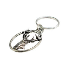 Pewter Key Ring : White Tailed Deer XTSBKKA22