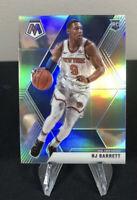 🔥RJ Barrett 2019-20 Panini Mosaic Silver Prizm RC #229 Knicks SP 🔥 PSA READY📈