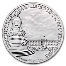 2019 U.K. 2 Pounds 1 oz Silver BU Buckingham Palace Landmarks of Britain