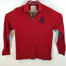 RIVER WOODS  Long sleeve Polo shirt Red XL
