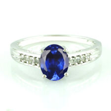 2.25 Carat 14KT White Gold Natural Blue Tanzanite EGL Certified Diamond  Ring
