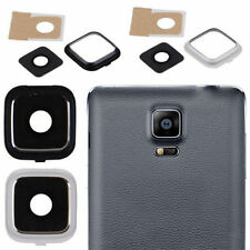 BLACK AND WHITE CAMERA GLASS LENS COVER FOR SAMSUNG GALAXY NOTE 4 N910 EDGE N915