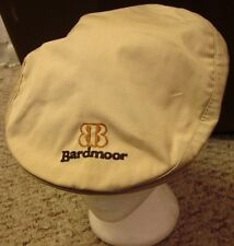 BARDMOOR golf logo newsboy hat Seminole gatsby Duckster cabbie 1970s beat-up FLA