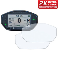 2 x DUCATI MONSTER 14+ instrumento/dashboard/Speedo UC protector de pantalla