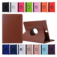 360° Rotate Flip Leather Stand Hand-Bag Case Cover For Samsung Tab S3 9.7 T825