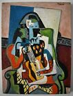 Painting Pablo Picasso. Oil on canvas.