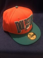 New Era 5950 NFL Miami Dolphins 2 Tone Fitted Cap 7 3/4 *NWT* Vintage
