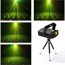 Laser Projector Stage Lights Mini LED R&G Lighting Xmas Party DJ Disco KTV Show