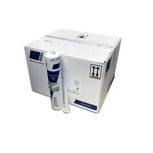 24 x MEGASTARK Sabatack® 780 MS Polymer Kleber Dichtmasse 290ml WEISS RAL 9003