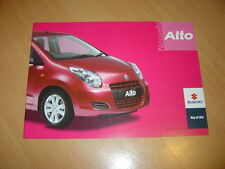 CATALOGUE Suzuki Alto de 2010