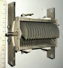 Condensateur variable 120 pF 2000 Volts (démontage BC191)