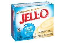 Jello Sugar Free Instant Pudding Banana Cream Pudding 25g
