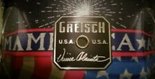 GRETSCH SNARE 2002 VINNIE COLAIUTA 75TH ANNIVERSARY AMERICA RED WHITE BLUE