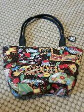 Small Black Mary Engelbreit Purse Tote Bag