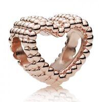 Geflochtenes Herz PANDORA ROSE Charm Beaded heart 787516