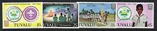 Tuvalu 1982 Boy Scout Movement SG 192 - 195 unmounted mint