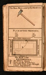 c1815 4vol in1 Ratcliff Highway Murders Fairburn's Authentic and Particular A...